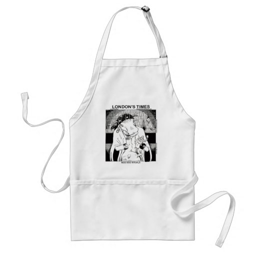 Moo Doo Rituals New Orleans Cow Funny Gifts Apron