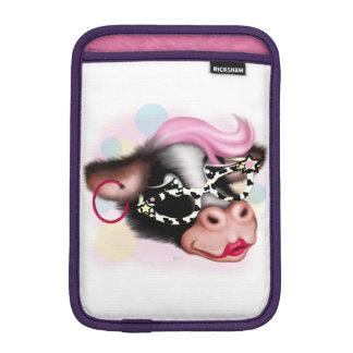 MOO FACE COW CARTOON iPad Mini iPad Mini Sleeve
