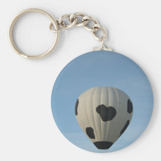 Moo!  Greetings, xlta event Basic Round Button Key Ring