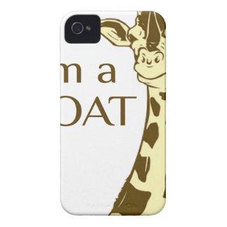 moo im a goat Case-Mate iPhone 4 cases
