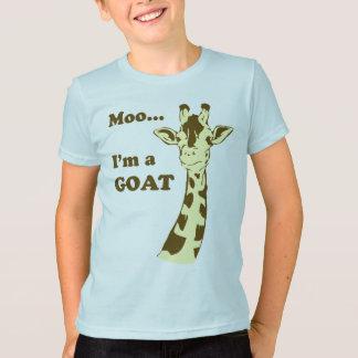 Moo...I'm a GOAT Kids Shirt