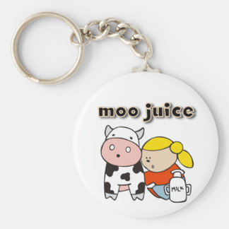 Moo Juice Tshirts and Gifts Key Chains