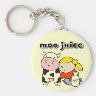 Moo Juice Tshirts and Gifts Key Chain