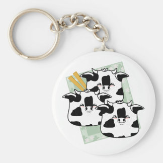 Moo Moo Dumplings Platter Key Chain