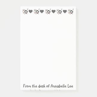 Moo Moo Love Post-it Notes