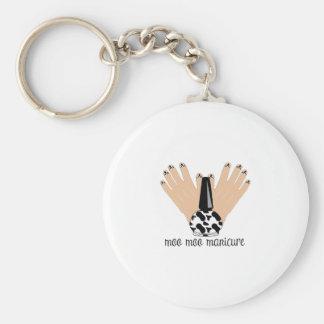Moo Moo Manicure Keychain