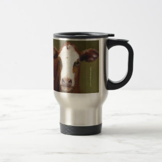 moo Stainless Steel Travel Mug