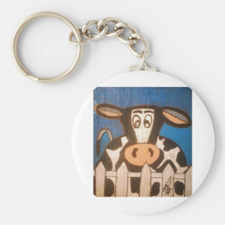 Moo to You Key Chain