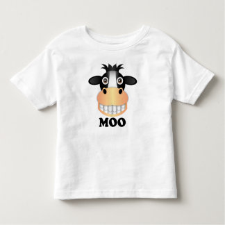 Moo - Toddler Fine Jersey T-Shirt Toddler T-Shirt
