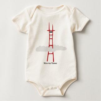 Moo-tro Tower Baby Bodysuit