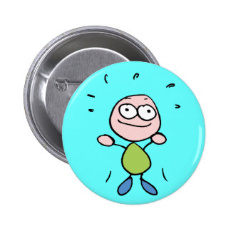 Moodbutton 'ecstatic' 6 cm round badge