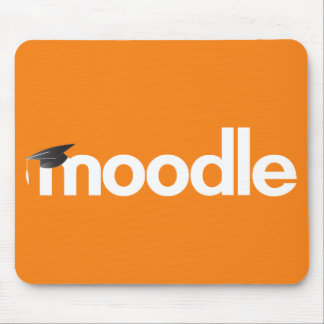 Moodle Mouse Pad - Orange