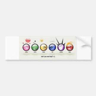 moods bumper sticker