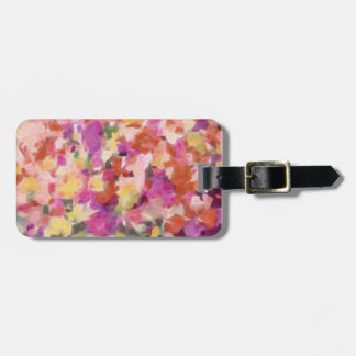 Moody Blooms Luggage Tag