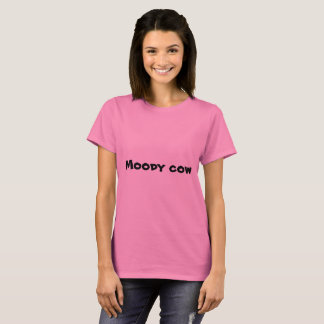 Moody Cow t shirt
