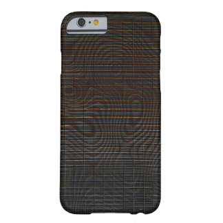 Moody Dark Abstract Pattern Barely There iPhone 6 Case