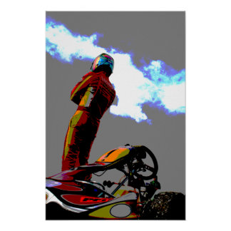 Moody Karting Poster