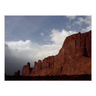 Moody Moab Sky Poster