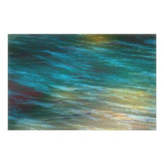 Moody Ocean Breeze Custom Stationery