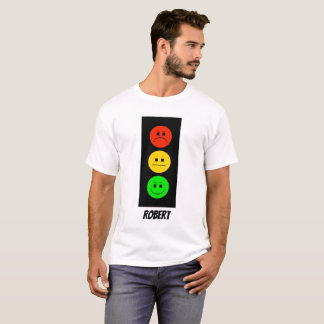 Moody Stoplight Customizable with Name T-Shirt