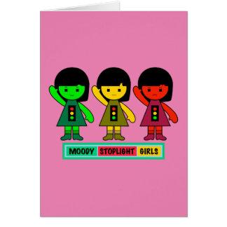 Moody Stoplight Girls w/ Label Card