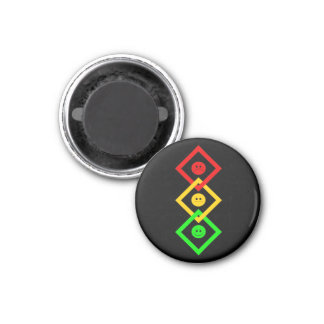 Moody Stoplight Interlinked Magnet