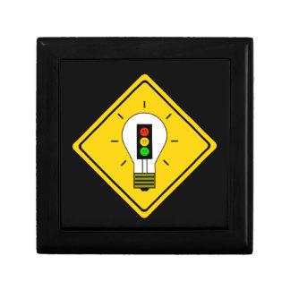 Moody Stoplight Lightbulb Ahead Gift Box