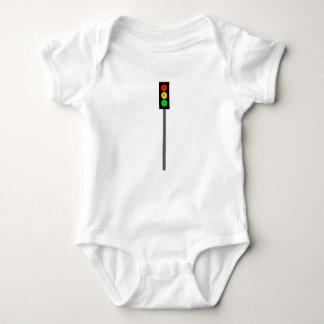 Moody Stoplight on Pole Baby Bodysuit