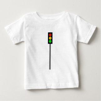 Moody Stoplight on Pole Baby T-Shirt