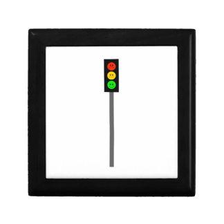Moody Stoplight on Pole Gift Box