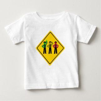Moody Stoplight Trio Ahead Baby T-Shirt