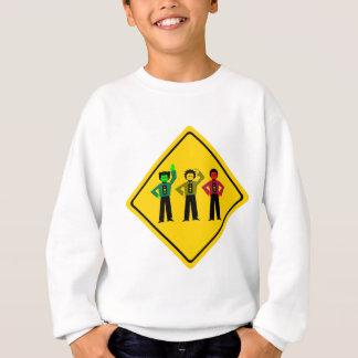 Moody Stoplight Trio Ahead Sweatshirt