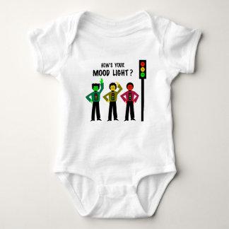 Moody Stoplight Trio How's Your Mood Light Baby Bodysuit