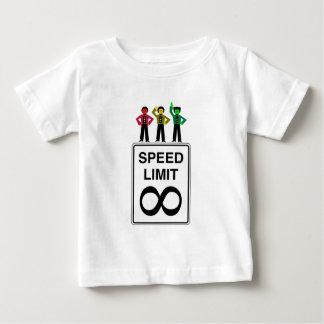 Moody Stoplight Trio Infinite Speed Limit Baby T-Shirt