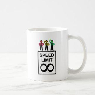 Moody Stoplight Trio Infinite Speed Limit Coffee Mug