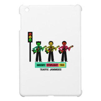 Moody Stoplight Trio Mustachio Guitar Players 2 iPad Mini Cover
