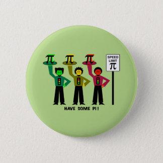 Moody Stoplight Trio Next To Speed Lim Pi Sign w/C 6 Cm Round Badge