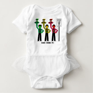 Moody Stoplight Trio Next To Speed Lim Pi Sign w/C Baby Bodysuit