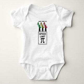 Moody Stoplight Trio On Speed Lim Pi Sign wCaption Baby Bodysuit