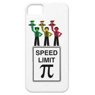 Moody Stoplight Trio On Speed Limit Pi Sign Case For The iPhone 5