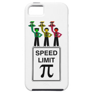 Moody Stoplight Trio On Speed Limit Pi Sign iPhone 5 Case