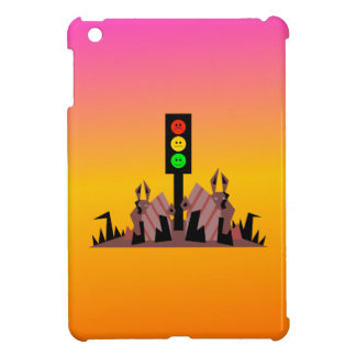 Moody Stoplight with Bunnies, Dreamy Background Case For The iPad Mini