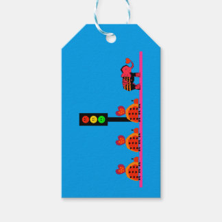Moody Stoplight with Heart Caravan Gift Tags
