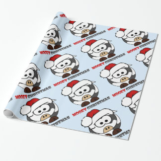 Mooey Christmas Wrapping Paper