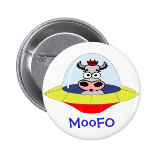 MooFO Cow UFO Button
