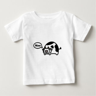 Mooing Cow Baby T-Shirt
