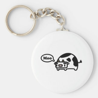 Mooing Cow Key Chain