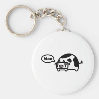 Mooing Cow Key Chain