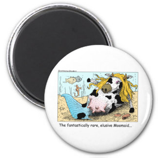 Moomaid Funny Cow Cartoon Gifts Tees Collectibles Refrigerator Magnets