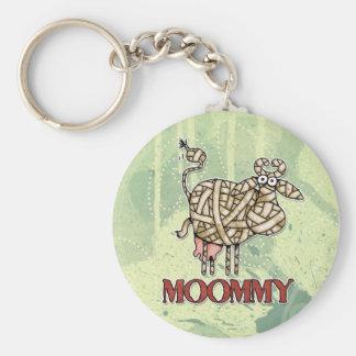 moommy basic round button key ring